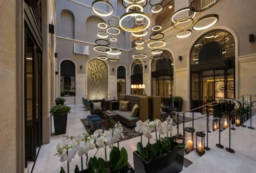 Poczekalnia w hotelu 10 karakoy a morgans original special class
