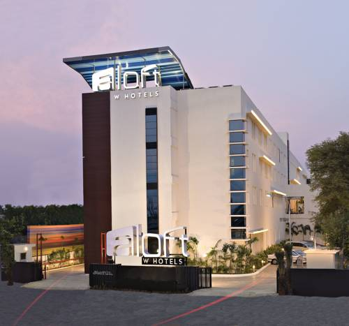 Ciekawa architektura hotelu aloft chennai omr it expressway