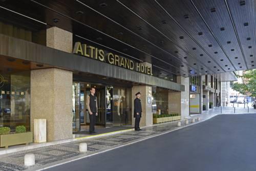 Wejście do hotelu Altis Grand Hotel
