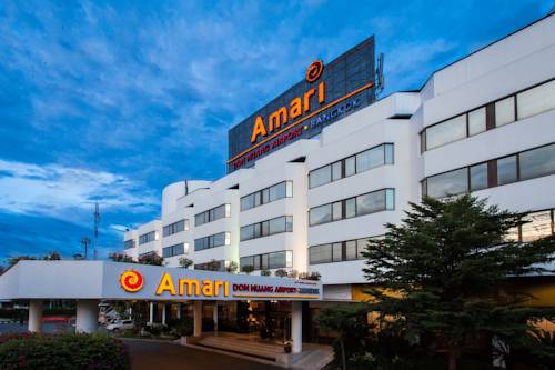 Podjazd w hotelu amari don muang airport bangkok