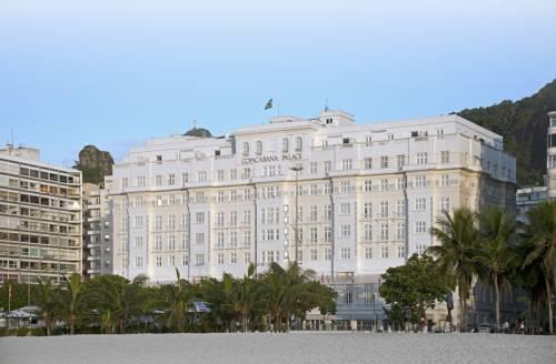 Hotel belmond copacabana palace w pobliżu plaży