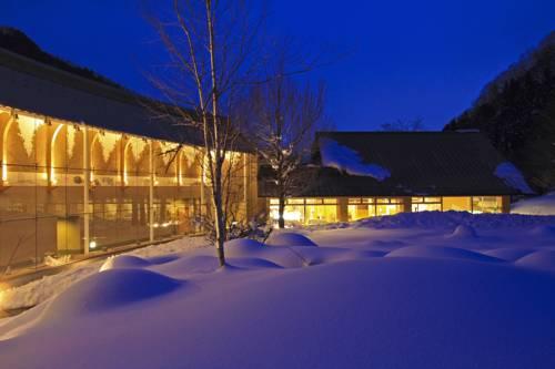 Hotel Bettei Senjyuan w Japonii w zimowej odsłonie