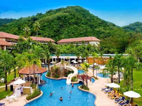 Punkt relaksu w Centara Karon Resort Phuket w Tajlandii