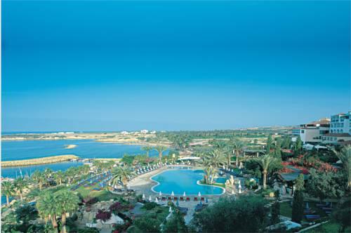 Panorama obejmująca coral beach hotel and resort