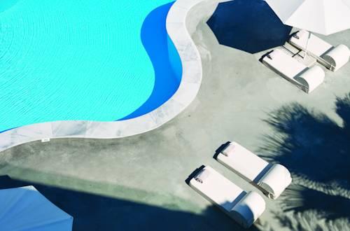 Widok z góry na strefę relaksu w Image Zobacz zdjęcia Mapa: Ekies All Senses Resort Hotel map expand icon Ekies All Senses Resort Hotel, Grecja