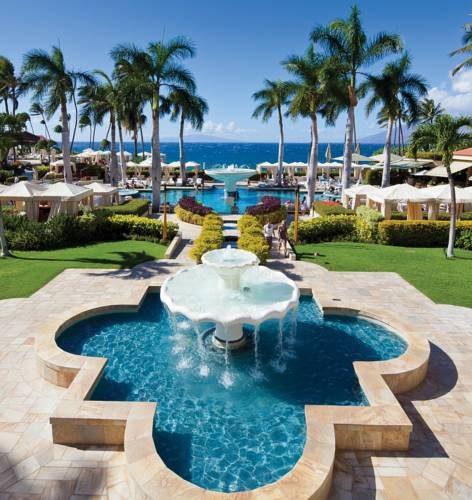 Główne miejsce odpoczynku w Four Seasons Resort Maui at Wailea, Stany Zjednoczone