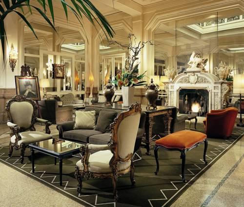 Kominek w Grand hotel et de milan