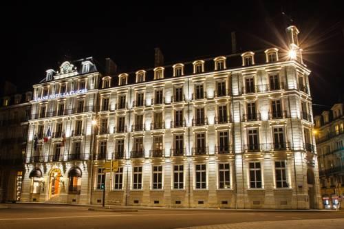 Piękny Hotel La Cloche w Dijon