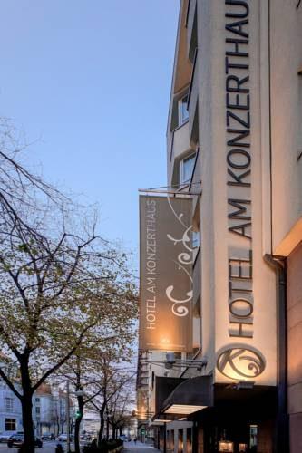 Szyld hotelu Hotel Am Konzerthaus Vienna MGallery by Sofitel, Austria