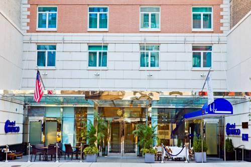 Wejście do hotelu indigo nyc