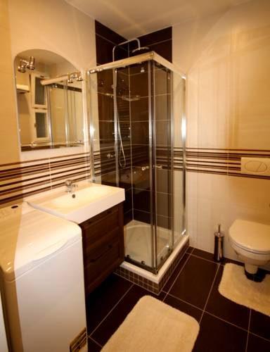łazienka w hotelu Josef