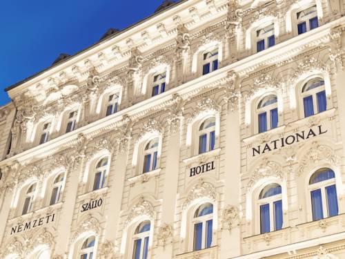 Główna fasada hotel nemzeti budapest mgallery collection