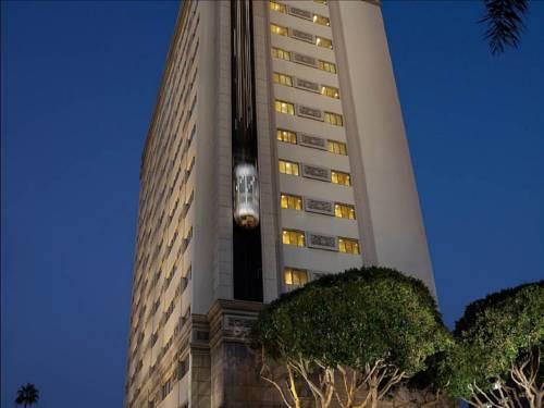 Winda na zewnątrz w hotelu Huntley Santa Monica Beach