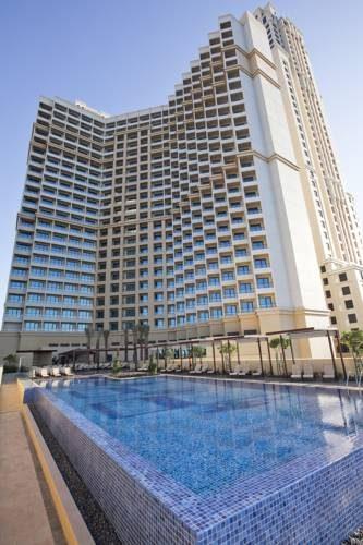 Widok na hotel JA Ocean View Hotel w Emiratach Arabskich