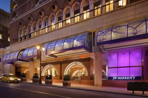 główne wejście od hotelu jw marriott san francisso union square