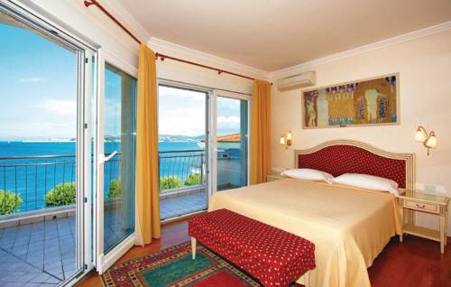 Widok na morze z Hotelu Kempinski