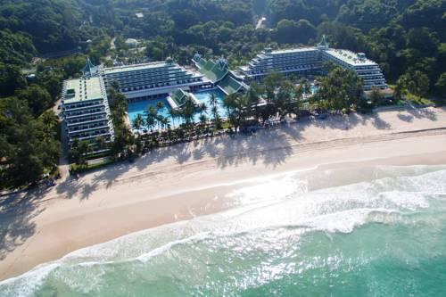Widok z lotu ptaka na kurrort la meridiene phuket beach resort