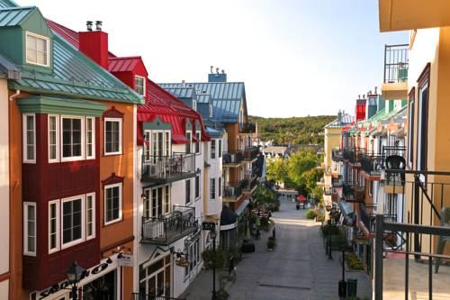 Kolorowe kamieniczki w Le Westin resort SPA