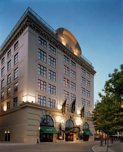 Budynek hotelu malmaison newcatle