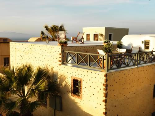 Bajeczny taras w Grecji na dachu