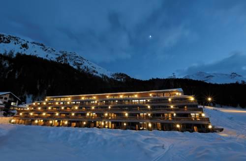 Hotel nira alpina w zimowej odsłonie