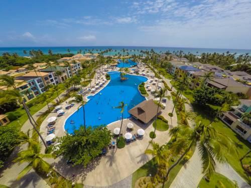 Widok na ocean blue sand beach resort