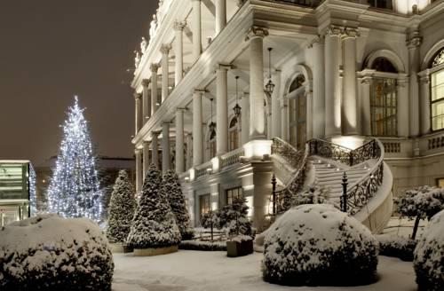 Hotel Palais Coburg w zimowej odsłownie, Austria