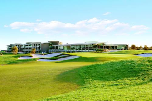 Przestrzeń do gry w golfa w resorcie Peppers the Sands