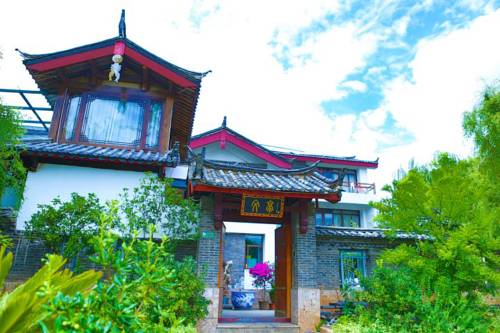 Tradycyjny budynek pullman lijiang resort and spa