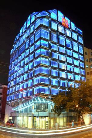 Oszklony budynek hotelu Regent Beijing, Chiny