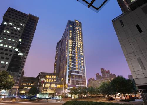 Wysoki wieżowiec renaissance by marriott beijing capital