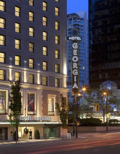 Główny budyenk hotelu rosewood hotel georgia