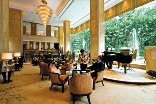 Miejsce na wypicie kawy w shangri hotel kuala lumpur