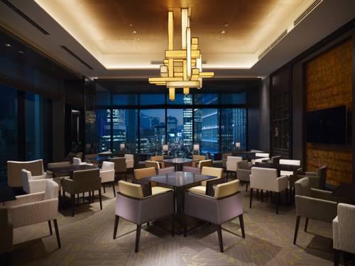 Jadalnia w Shangri La Hotel w Tokjo