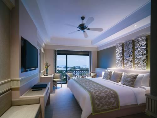 Pokój z wysokim standardem w Shangri las rasa sentosa resort spa