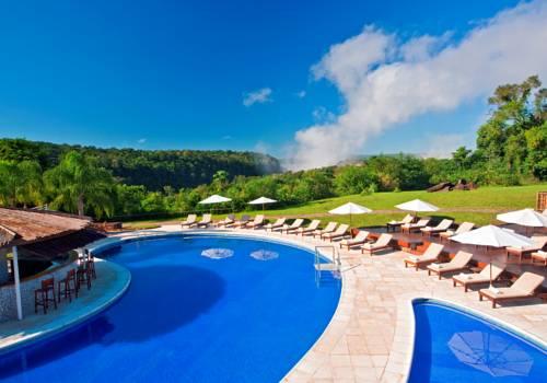 Basen w tropikach przy sherato iguazu resort spa