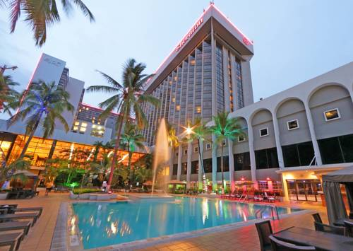 Basen w hotelu sheraton panama hotel convention center