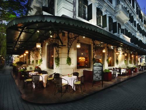 Restauracja przy hotelu sofitel legend metropole hanoi