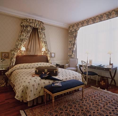 Stylowe wnętrze w hotelu Stanhope Hotel