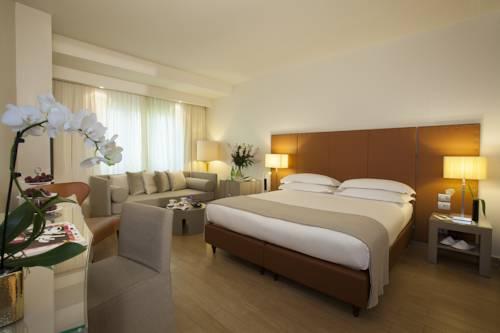 Wnętrze 4-gwiazdkowego hotelu Michelangelo we Florencji