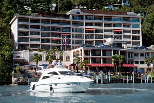 Widok na Diamond Hotel w Szwajcarii