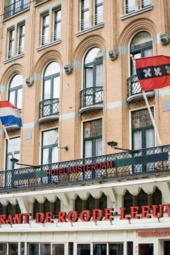 Hotel przy głównej ulicy w Amsterdamie Swissotel