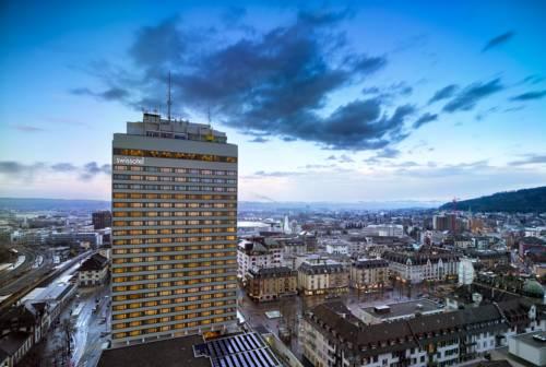 Panorama z widokiem Swissotel Zurich