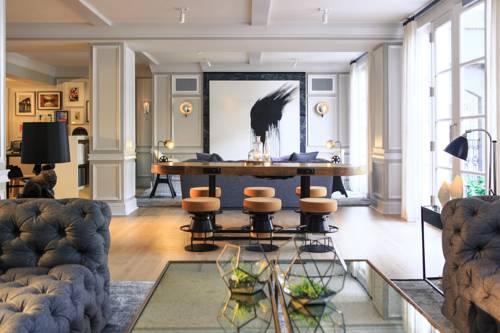 Pokój dla wszystkich gości w hotelu The Brice a kimpton hotel