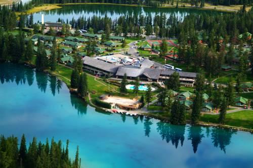 Kompleks wypoczynkowy w Jasper Park Lodge, nad jeziorem, Kanda