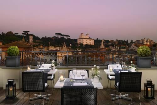 Taras w the first luxury art hotel roma