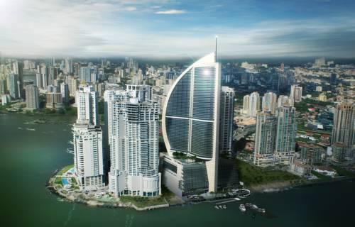 Panorama obejmująca trum ocean clun international hotel