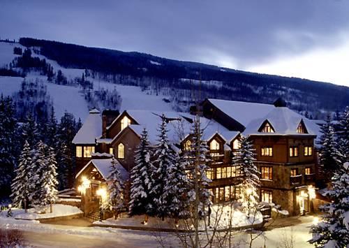 Zimowa odsłona vail mountain lodge