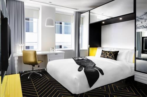 Pokój dwuosoby w hotelu W w montrealu