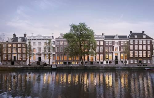 Bajeczne kamienice w Amsterdami, Holandia